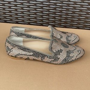 Steve Madden Conncord bejeweled flats size 8